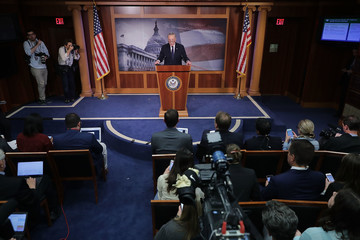 Chuck Schumer Sen. Schumer (D-NY) Speaks on Capitol Hill After President Trump Fires FBI Director James Comey