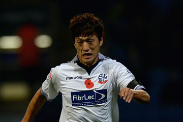 Chung-Yong Lee Bolton Wanderers v Wigan Athletic