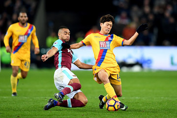 Chung-Yong Lee West Ham United v Crystal Palace - Premier League