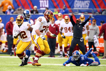 Chykie Brown Washington Redskins v New York Giants