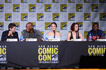 Chyler Leigh Comic-Con International 2016 - 'Supergirl' Special Video Presentation And Q&A