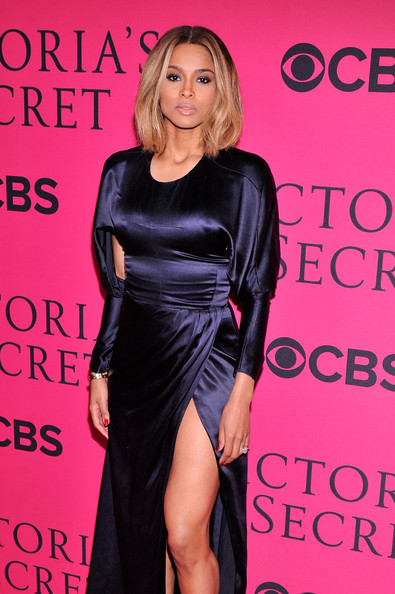 Arrivals at the Victoria's Secret Fashion Show — Part 2 [clothing,dress,fashion model,shoulder,little black dress,cocktail dress,fashion,long hair,premiere,event,carpet arrivals,ciara,new york city,lexington avenue armory,victorias secret fashion show]