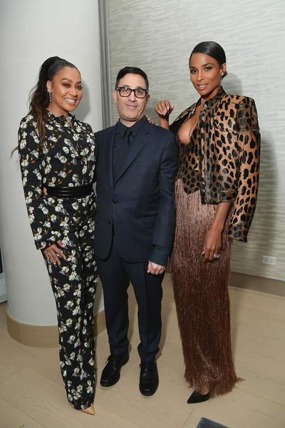 InStyle Dinner To Celebrate The April Issue Hosted By Cover Star Ciara And Laura Brown [fashion,fashion design,event,suit,haute couture,formal wear,cover star ciara,laura brown,jason weinberg,lala anthony,issue,l-r,new york city,instyle dinner]