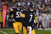 Ben Roethlisberger #7 of the Pittsburgh Steelers comes off the field in the first quarter during the game against the Cincinnati Bengals at Heinz Field on December 30, 2018 in Pittsburgh, Pennsylvania.