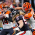 Andy Dalton Photos - Andy Dalton #14 of the Cincinnati Bengals drops back to pass during the second quarter against the Atlanta Falcons at Mercedes-Benz Stadium on September 30, 2018 in Atlanta, Georgia. - Cincinnati Bengals vs. Atlanta Falcons