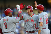Joey Votto Todd Frazier Photos Photo