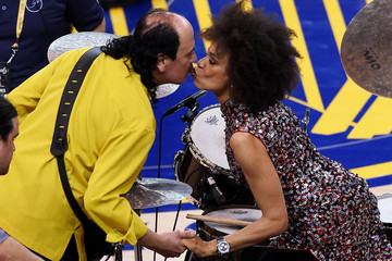 Cindy Blackman 2015 NBA Finals - Game Two