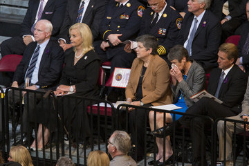 Cindy McCain Memorial Service Honors 19 Elite Firefighters