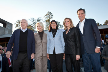 Cindy McCain Romney Brings His Campaign To South Carolina