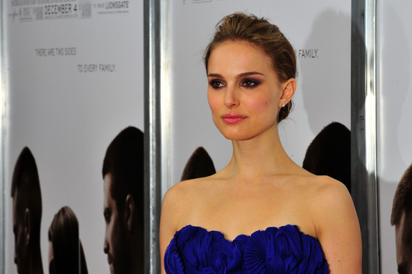 Actress Natalie Portman attends The Cinema Society, Details and DKNY