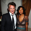 Sean Penn and Cheryl Mills Photos