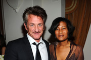 Sean Penn and Cheryl Mills Photos Photo