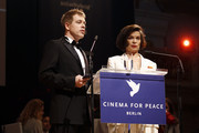 Michael Mittermeier and Bianca Jagger attend the Cinema for Peace Gala ceremony at the Konzerthaus Am Gendarmenmarkt during day five of the 62nd Berlin International Film Festival  on February 13, 2012 in Berlin, Germany.