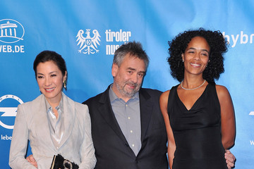 Michelle Yeoh Luc Besson Cinema For Peace Gala 2012 - Red Carpet Arrivals