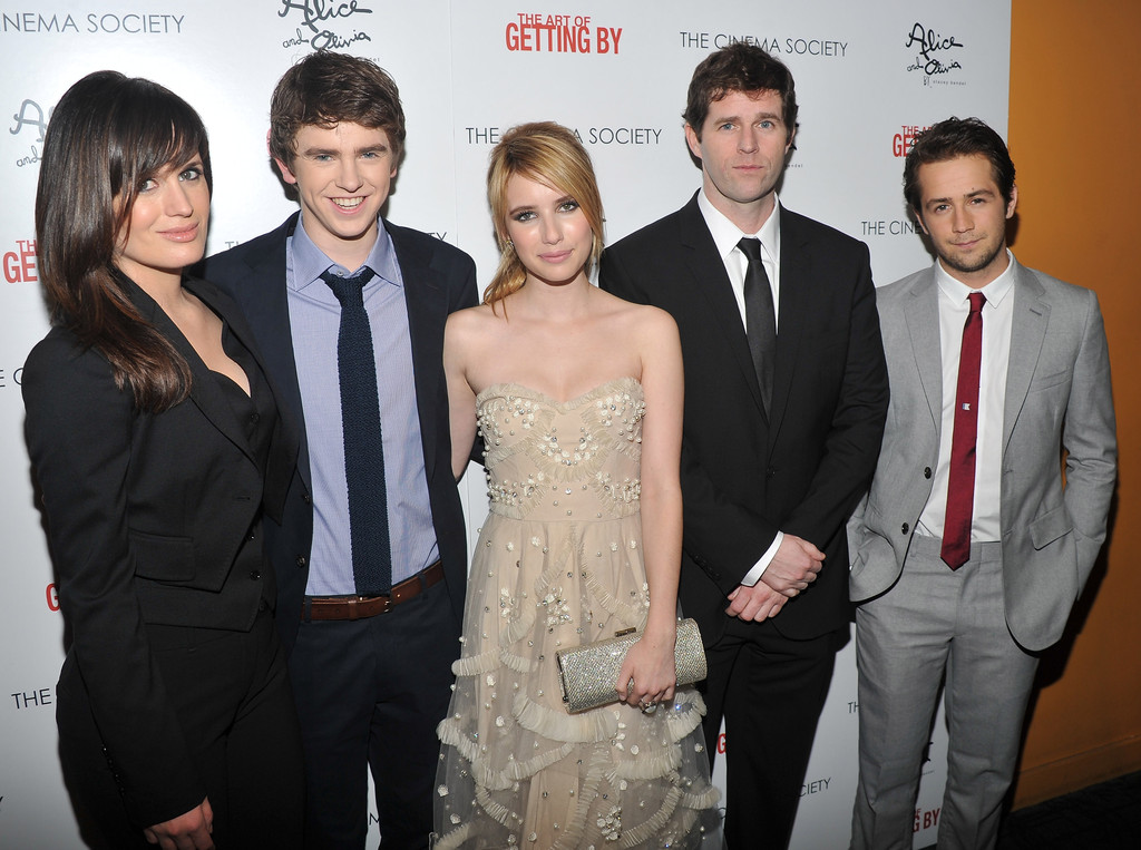 Freddie Highmore and G...