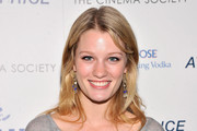 "Actress Ashley Hinshaw attends the Cinema Society & Bally screening of Sony Pictures Classics' ""At Any Price"" at Landmark Sunshine Cinema on April 18, 2013 in New York City."