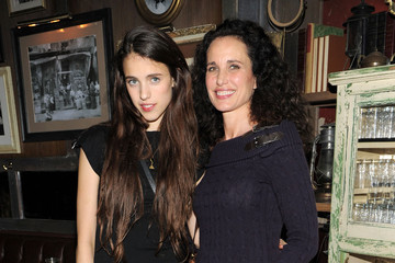 """Andie MacDowell Sarah Margaret Qualley The Cinema Society & DKNY Host A Screening Of """"The Twilight Saga: Breaking Dawn - Part 1"""" - After Party"""