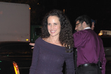 """Andie MacDowell The Cinema Society & DKNY Host A Screening Of """"The Twilight Saga: Breaking Dawn - Part 1"""" - Outside Arrivals"""