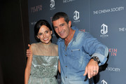 """Actors Elena Anaya and Antonio Banderas attend the Cinema Society & DeLeon Tequila screening of """"The Skin I Live In"""" at the Tribeca Grand Hotel on October 13, 2011 in New York City."""
