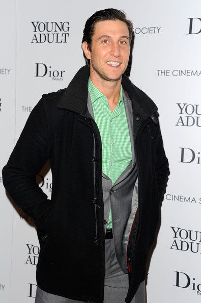 "Pablo Schreiber attends the Cinema Society & Dior Beauty screening of ""Young Adult"" at the Tribeca Grand Screening Room on November 18, 2011 in New York City."