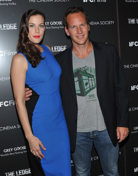 "Actress Liv Tyler and actor Patrick Wilson attend the Cinema Society & Grey Goose screening of ""The Ledge"" at Landmark Sunshine Cinema on June 21, 2011 in New York City."