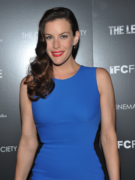 "Actress Liv Tyler attends the Cinema Society & Grey Goose screening of ""The Ledge"" at Landmark Sunshine Cinema on June 21, 2011 in New York City."