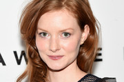 """Actress Wrenn Schmidt attends The Cinema Society With Hestia & St-Germain Host a Screening of Sony Pictures Classics' """"I Saw the Light"""" at Metrograph on March 24, 2016 in New York City."""