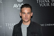 """Kevin Zegers attends a screening of DreamWorks and Universal Pictures' """"Thank You for Your Service""""  hosted by The Cinema Society at The Landmark at 57 West on October 25, 2017 in New York City."""