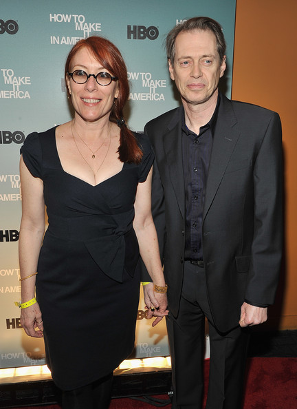 Steve Buscemi with gracious, endearing, kind, Wife Jo Andres