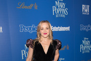 "Geneva Carr attends The Cinema Society's screening of ""Mary Poppins Returns"" co-hosted by Lindt Chocolate at SVA Theatre on December 17, 2018 in New York City."