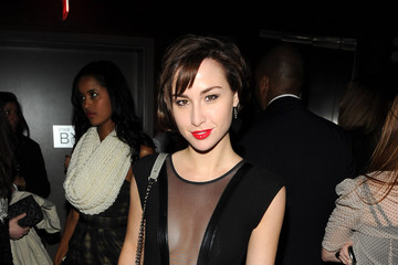 """Allison Scagliotti The Cinema Society Screening Of """"The Social Network"""" - After Party"""