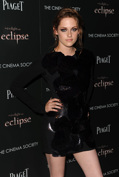 Actress Kristen Stewart attends The Cinema Society Screening Of