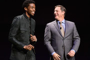 Adam Fogelson and Chadwick Boseman Photos Photo