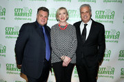 (L-R)  Francois Payard, Jilly Stephens and Eric Ripert attend City Harvest's 22nd Annual an Evening of Practical Magic on April 12, 2016 in New York City.