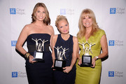(L-R) Honorees Heather Thomson, Kristin Chenoweth, and Kathie Lee Gifford attend the City of Hope-East End Chapter 2010 Spirit of Life Award luncheon at Waldorf Astoria - Grand Ballroom on April 26, 2010 in New York City.