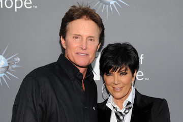 Kris Jenner Bruce Jenner City of Hope Honors Shelli And Irving Azoff With The 2011 Spirit Of Life Award - Red Carpet