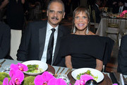 (L-R) 82nd Attorney General of the US, Eric Holder and Spirit of Life Honoree, Chairman & CEO Epic Records, Sylvia Rhone attend City Of Hope Spirit Of Life Gala 2019 on October 10, 2019 in Santa Monica, California.
