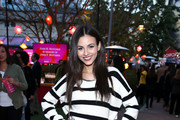 Victoria Justice attends City Year Los Angeles' Spring Break: Destination Education at Sony Studios on May 04, 2019 in Los Angeles, California.