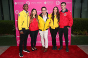 Dan Bucatinsky (C) and AmeriCorps members attend City Year Los Angeles' Spring Break: Destination Education at Sony Studios on May 04, 2019 in Los Angeles, California.