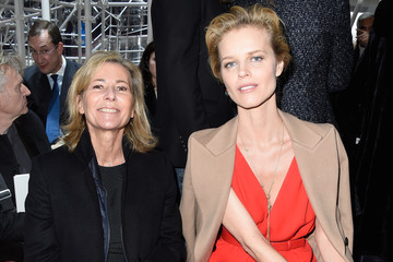 Claire Chazal Front Row at Christian Dior