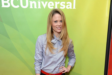 "Claire Coffee NBCUniversal's ""2013 Winter TCA Tour"" Day 1 - Arrivals"
