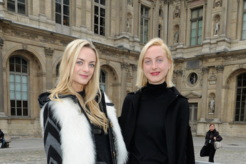 Claire Courtin-Clarins Louis Vuitton - Front Row - PFW F/W 2013