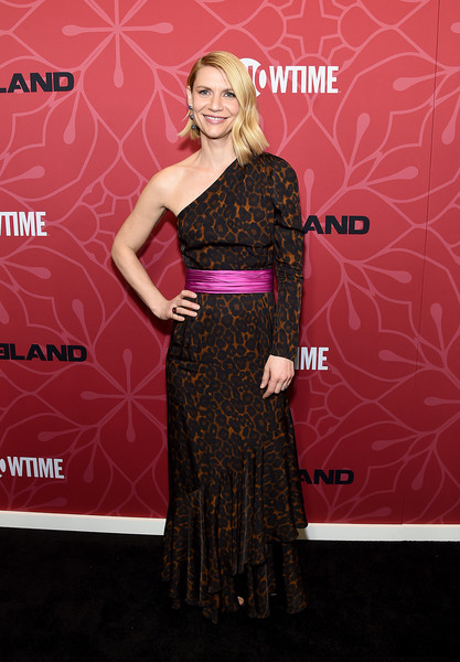 """Homeland"" Season 8 Premiere [season,homeland,dress,red carpet,clothing,carpet,shoulder,premiere,fashion,flooring,joint,gown,claire danes,new york city,museum of modern art,premiere,claire danes,homeland,homeland season 8,the museum of modern art,showtime,stock photography,photograph,hugh dancy]"