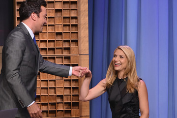 "Claire Danes Claire Danes Visits ""The Tonight Show Starring Jimmy Fallon"""