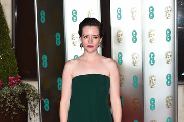 Claire Foy EE British Academy Film Awards Gala Dinner - Red Carpet Arrivals