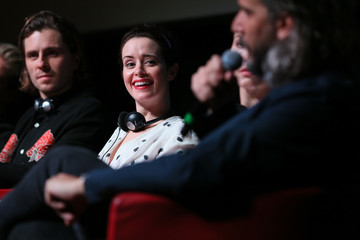 Claire Foy 'The Girl In The Spider's Web' Press Conference - 13th Rome Film Fest