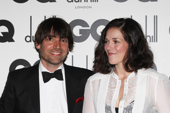 Alex James with beautiful, cute, Wife  Claire Neate
