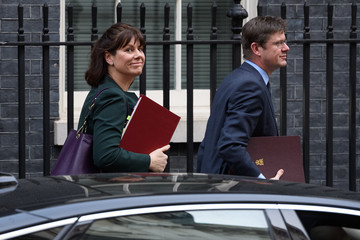 Claire Perry Government Ministers Attend Weekly Cabinet Meeting