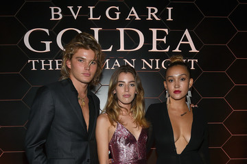 Clara McGregor Bulgari Celebrates Launch of New Fragrance 'Goldea, The Roman Night'