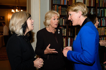 Clare Balding The Duchess of Cornwall Hosts Reception For WOW